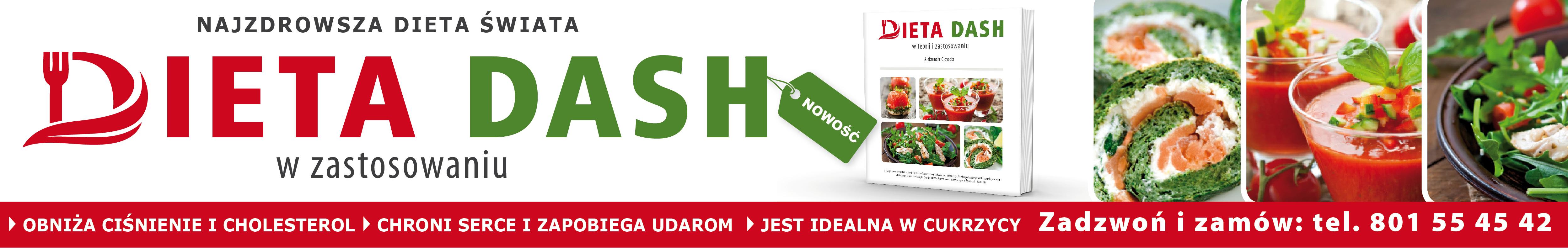 DASH - najzdrowsza dieta Świata